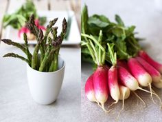 Pickled Radishes + A hot spring and a busy market – sweet almond