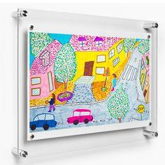 e7d30a2b9575 Floating Acrylic Frame