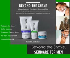 Beyond the Shave. Skincare for Men.