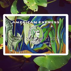 A recent commissioned piece for @AmericanExpress to interpret their Green Card- Gold and Platinum to follow!