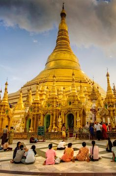 Visiting a pagoda is a great opportunity to meet and interact with local monks, and to learn about Buddhism and their culture. The most sacred pagoda in Myanmar is Shwedagon Pagoda, in Yangon.