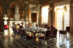 Jacques Garcia . Chateau de Champ de Bataille. Authentic Decor . Real Frenchness