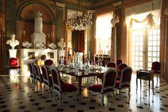 Jacques Garcia . Chateau de Champ de Bataille. Authentic Decor . Real Frenchness