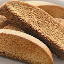 """Vanilla Biscotti from King Arthur Flour. The owner of the Sol Bakery in Boise (on Hill Street) shared this one with me. It's great and accepts """"additives"""" easily. Tea Biscuits, Biscotti Biscuits, Biscotti Cookies, Delicious Desserts, Dessert Recipes, Yummy Food, Vanilla Biscotti Recipes, Thin Biscotti, Coffee Bread"""