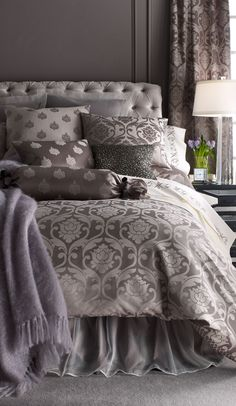 Fino Lino Linen and Lace Bedding Collection