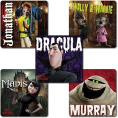 Hotel Transylvania Stickers - 75 Pack