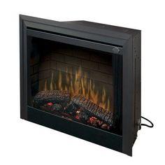 Dimplex 39 in. Standard Built-In Electric Fireplace Insert - BF39STP