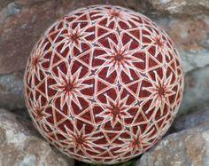 32 Flowers temari ball