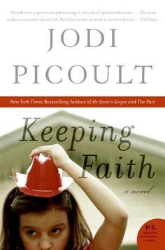 Jodi Picoult. This was a very interesting read. What if your 7 yr old daughter suddenly developed a stigmata and people the world over came because they felt they could be healed?