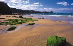 Playa de la Espasa / El Viso #Caravia #playa #beach #Asturias #ParaísoNatural #NaturalParadise #Spain Costa, Surf, Paraiso Natural, Parking, Places To See, Water, Outdoor, Travel, Playa Beach