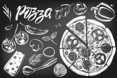 Картинки по запросу пицца мелом