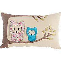 Heart of House Harry Owl Cushion - Cream. homebase