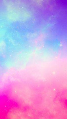 Pastel wallpaper, cool backgrounds, galaxy wallpaper, wallpaper for your ph Iphone Wallpaper Sky, Rainbow Wallpaper, Glitter Wallpaper, Tumblr Wallpaper, Cellphone Wallpaper, Colorful Wallpaper, Aesthetic Iphone Wallpaper, Cool Wallpaper, Pink Nebula Wallpaper