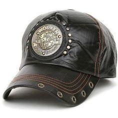 Ball Trucker Baseball Cap Leather Style Hat WRK BLACK. Sombreros De  CueroGorrosGorras SnapbackCamisetasAccesoriosHombresModa ... d81e688120d