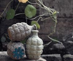 Flower bombs. Seeds, compost & dirt and BOOM throw it anywhere to sprout garden.