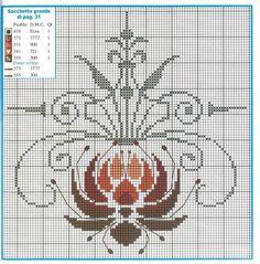 Gallery.ru / Фото #1 - + - Hela76 Small Cross Stitch, Cross Stitch Charts, Cross Stitch Designs, Cross Stitch Patterns, Folk Embroidery, Beaded Embroidery, Cross Stitch Embroidery, Tapestry Crochet Patterns, Knitting Patterns