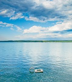 New York's Finger Lakes are among the deepest and most scenic in the country. Here, Cayuga Lake, in Ovid, N.Y.
