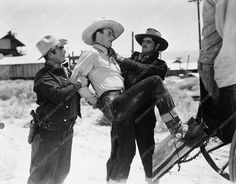 photo John Wayne action shot Pals Of the Saddle 3458-04