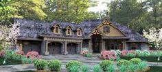 Elevation of Cottage   Country   Craftsman   Traditional   Tuscan   House Plan 65877