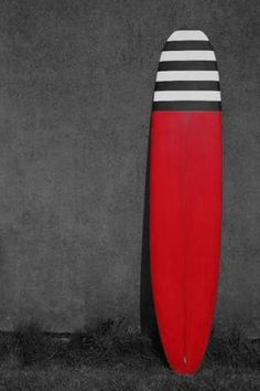 Image result for longboard surf white red stripes