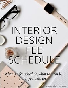 Neat Creating a fee schedule for your interior design business. The post Creating a fee schedule for your interior design business. appeared first on Post Decor . Interior Design Blogs, Interior Design Colleges, Boutique Interior Design, Contemporary Interior Design, Interior Decorating, Decorating Tips, Decorating Websites, Traditional Interior, Interior Styling