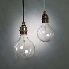 vintage globe bulbs