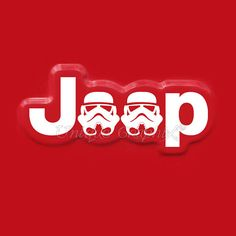 Jeep Wrangler Stormtrooper Vinyl fender Decal 1 by UniqueGraphix