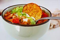 Karibisches Tamarind and Chickpea Curry