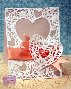 by Wendy Price Create a Card- Heart  #crafterscompanion