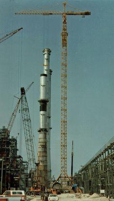Liebherr – 450 C tower crane with 120m height(1981)