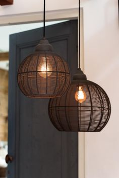 Hanglamp MILLA - mat zwart - Ceiling Light Design, Lighting Design, Room Lights, Ceiling Lights, Deco Luminaire, Living Room Lighting, Decoration, Room Inspiration, Light Bulb