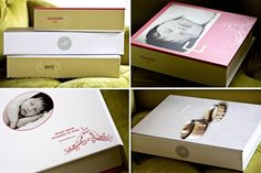 Photo Portfolio Presentation Box Photoshop Templates for Finao, White House Custom Color, Dream Album | Design Aglow