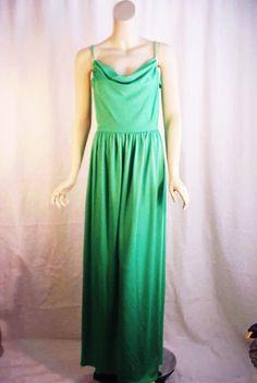Neiman Marcus 70's Green Grecian Evening Dress Grecian Dress, Olympians, Neiman Marcus, Evening Dresses, Fashion Outfits, Ebay, Clothes, Green, Shopping