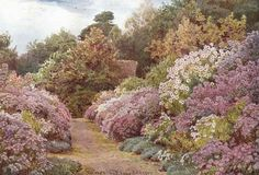 The idea garden | Gertrude Jekyll - Paintings | Drawings