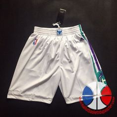 Short basket nba Charlotte Hornets Blanc nouveaux tissu 17,99€