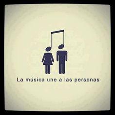 la musica une a las personas