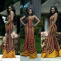 African fashion is available in a wide range of style and design. Whether it is men African fashion or women African fashion, you will notice. African Evening Dresses, African Party Dresses, African Print Dresses, African Dresses For Women, African Attire, African Wear, African Fashion Dresses, African Women, Nigerian Fashion
