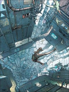Final Incal , a remake and eventual continuation of Moebius' After the Incal work, art by José Ladrönn