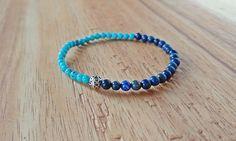 Check out this item in my Etsy shop https://www.etsy.com/ca/listing/511580198/turquoise-bracelet-lapis-bracelet-lapis
