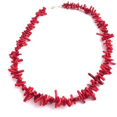 Perfect summer accessory - the Coral Flair Necklace available now at luxierefashion.co.uk