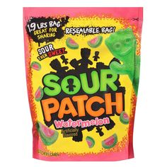 Sour Patch Watermelon Soft & Chewy Candy - Chewy Candy - Ideas of Chewy Candy - Fini Tubes, Sour Patches, Sour Patch Watermelon, Chewy Candy, Sour Patch Kids, Sour Candy, Chips, Favorite Candy, Gourmet Recipes