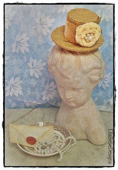 Ready To Ship..Country Chic  Burlap Vintage by EllaBebeDesigns, $20.00