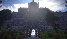 Image result for minecraft evil temple Minecraft Welten, Temple, Louvre, Nerd Stuff, Travel, Image, Wall, Middle Ages, Viajes