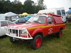 PEUGEOT 504 pick-up Dangel du SDIS Indre 1985