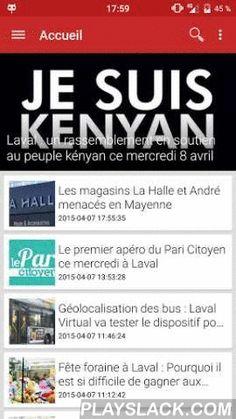 La Mayenne On Adore !  Android App - playslack.com , La Mayenne, on adore ! vous propose sa nouvelle application Android. Soyez au courant de l'actualité de votre département sur notre application.Fonctionnalités:- Lecture des news;- Notifications;- Partage;- Page Facebook & Twitter;- Et bien d'autres nouveautés à venir.Que vous soyez de Laval, Château-Gontier, Mayenne, Ernée, Evron, Sacé ou de Changé, cette application sans publicité est faite pour vous !