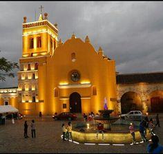 Templo de Santo Domingo en Comitan de las Flores CHIAPAS.
