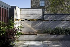 Secret hatches, moving walls and a sliding ladder all feature inside the Edinburgh home of architect Richard Murphy, which has been named RIBA House of the Year Grand Designs Houses, Edinburgh Uk, Moving Walls, Recycling, Small Terrace, Built In Furniture, Wooden Furniture, Carlo Scarpa, Oscar Niemeyer