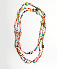 Reminds me of necklaces I had when I was little:-)