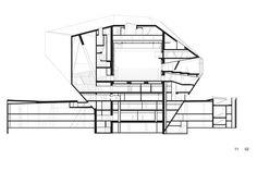 Casa da Musica,Section BB © OMA