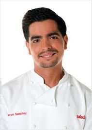 Aarón Sánchez is an American chef, the executive chef and part-owner of the restaurant Centrico. He has appeared on Iron Chef America, and is one of the few chefs whose battles have ended in a draw, Born 2.12.1976 El Paso, TX